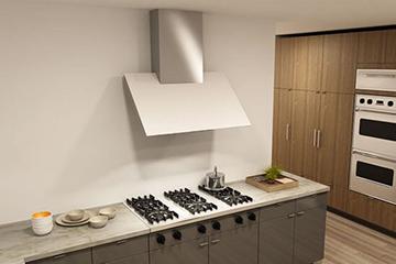 Cooker Hood Built In Di Interior Dapur