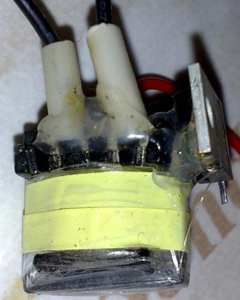 Powerful stun gun circuit  Evil Shocker - Ancestor Improvement