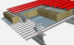 Metalden çatı: kendi kendine montaj teknolojisi